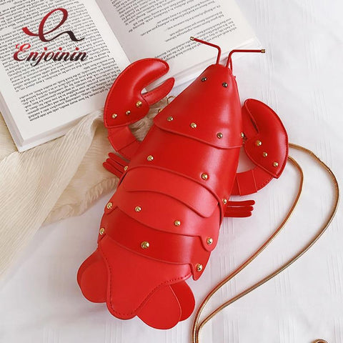 The 'Lobster' Shoulder Bag Novelty XOhalo