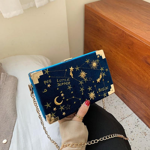'Constellation' Box Clutch Clutch XOhalo
