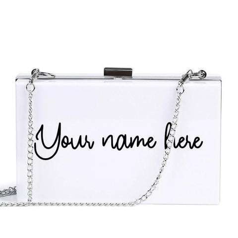The Personalized Name Clutch Clutch XOhalo