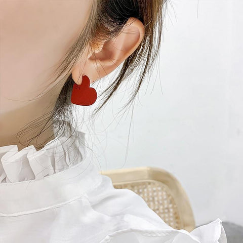 'Heart Drop' Earrings Earring XOhalo