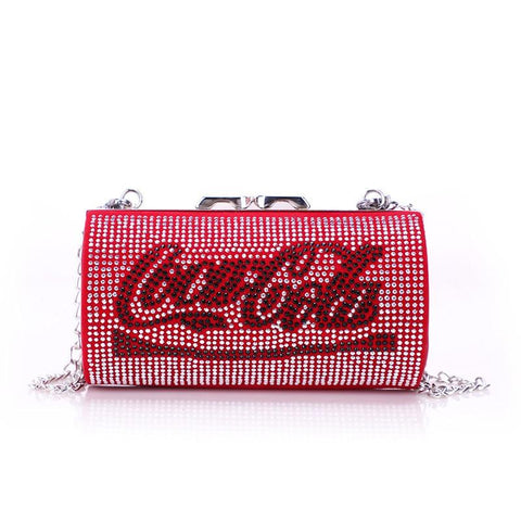 'Shadow Bling' Can Purse Purse XOhalo Red