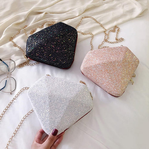 '100 Carat' Diamond Bag Crossbody XOhalo