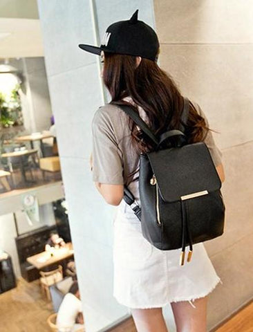 'Anais' Fashion Sack Backpack Backpack XOhalo