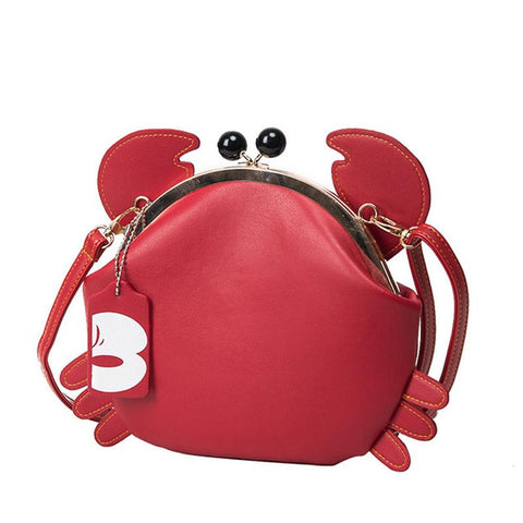 The 'Crab' Purse Purse XOhalo Red