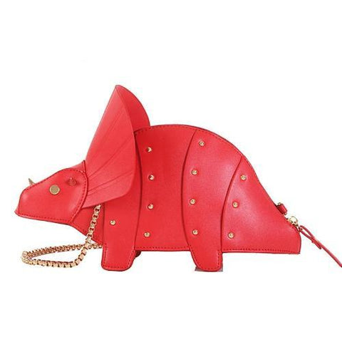 The 'Tricer' Bag Handbag XOhalo Red
