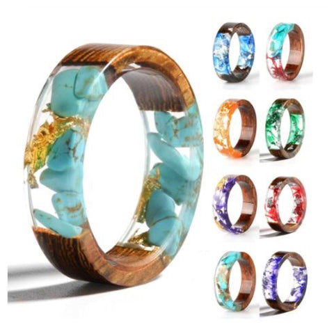 Wood Resin Lucid Rings Rings XOhalo