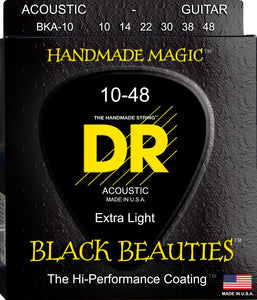 DR Black Beauty Acoustic Guitar Strings