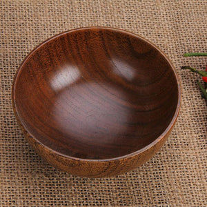 Hot Sale japanese wooden bamboo bowls wooden bowl Kitchen Accessories
