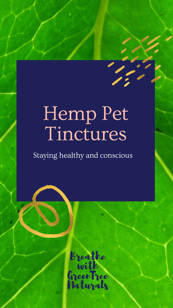 Pure Hemp Pet Tinctures