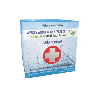 Medi-Bath Fusion Weekly Stress Detox - 50 mg Hemp - GreenTree Natural Wellness Center