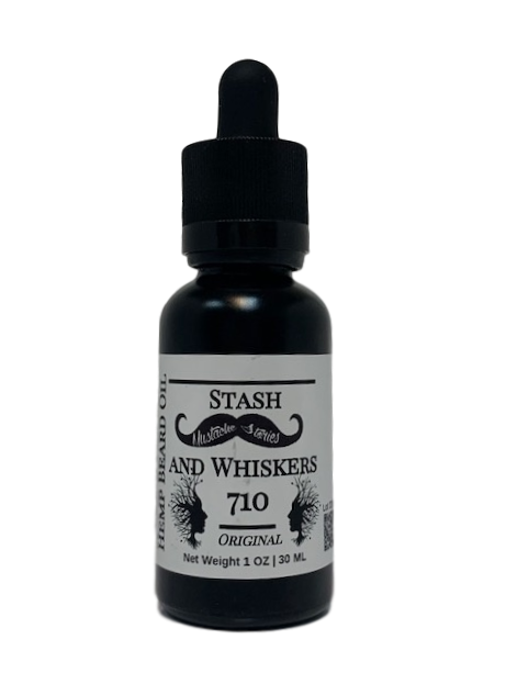 50 MG Hemp Stash and Whiskers 710 Beard Oil - GreenTree Natural Wellness Center