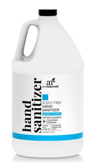 One Gallon Hand Sanitizer - World Health Organization Recommended Formula - GreenTree Natural Wellness Center