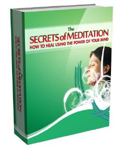 eBook - The Secret to Meditation - GreenTree Natural Wellness Center