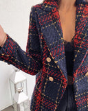 Hannah Tweed Blazer - Time Glam