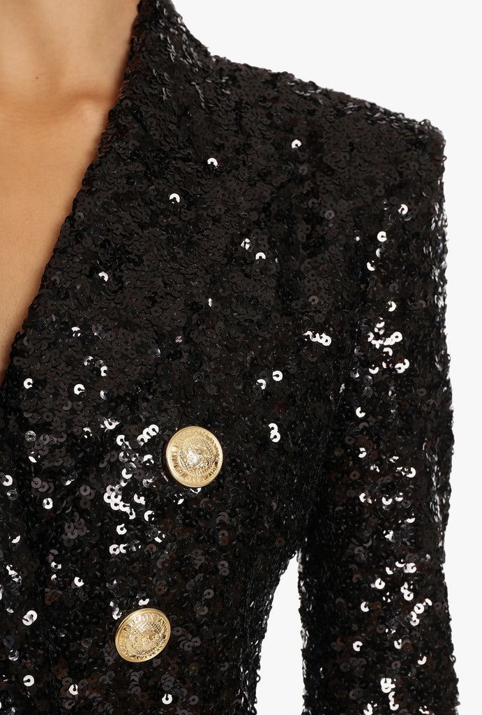 Kennedy Blazer Sequin - Cocomely