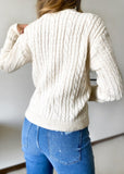 Oro Button Cardigan