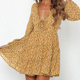 Andrea Floral Dress - Time Glam