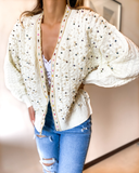 Gioa Pearl Cardigan - Cocomely