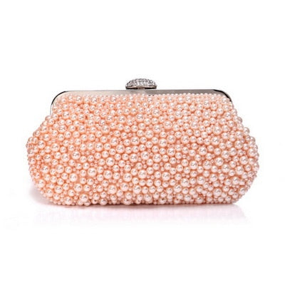 Vino Pearl Clutch - Time Glam