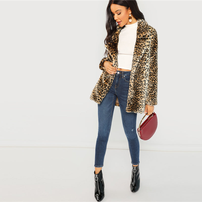 Lauren Leopard Coat