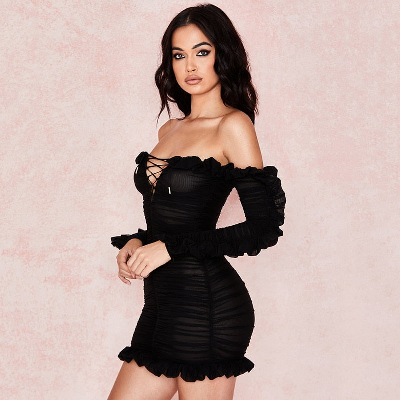 Paige Mini Dress - Time Glam