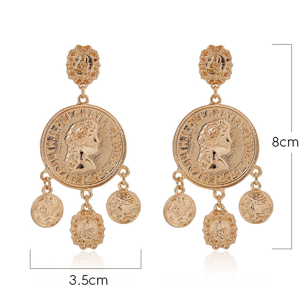Godess Earrings - Cocomely