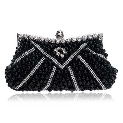 Gani Pearl Clutch - Time Glam