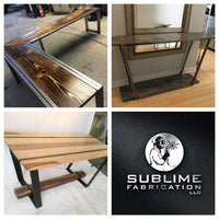 custom handmade rustic & modern industrial furniture services, Custom Industrial Furniture, CNC Plasma Cutting Machine, Custom Furniture, Welding, Welding Services, Welder, Unique Furniture, Metal Fabrication, Metal Art, Metalworking and CNC Services.