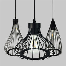 Hanging Caged Pendant Fixture