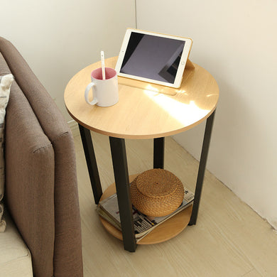 Round Modern End Table