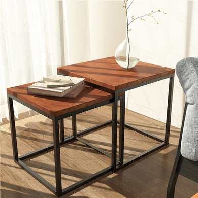 Modern Industrial End Tables
