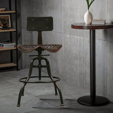 All Metal Industrial Bar Stool