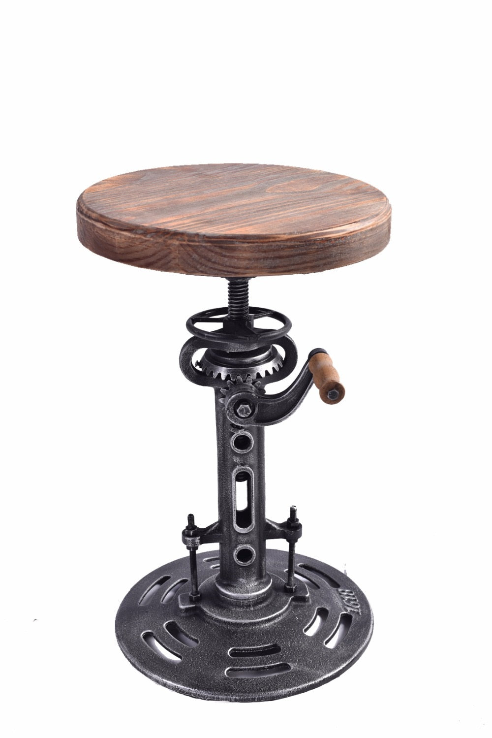 American Antique Industrial Bar Stool