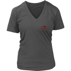 'I AM LOVED' Ladies District V-Neck