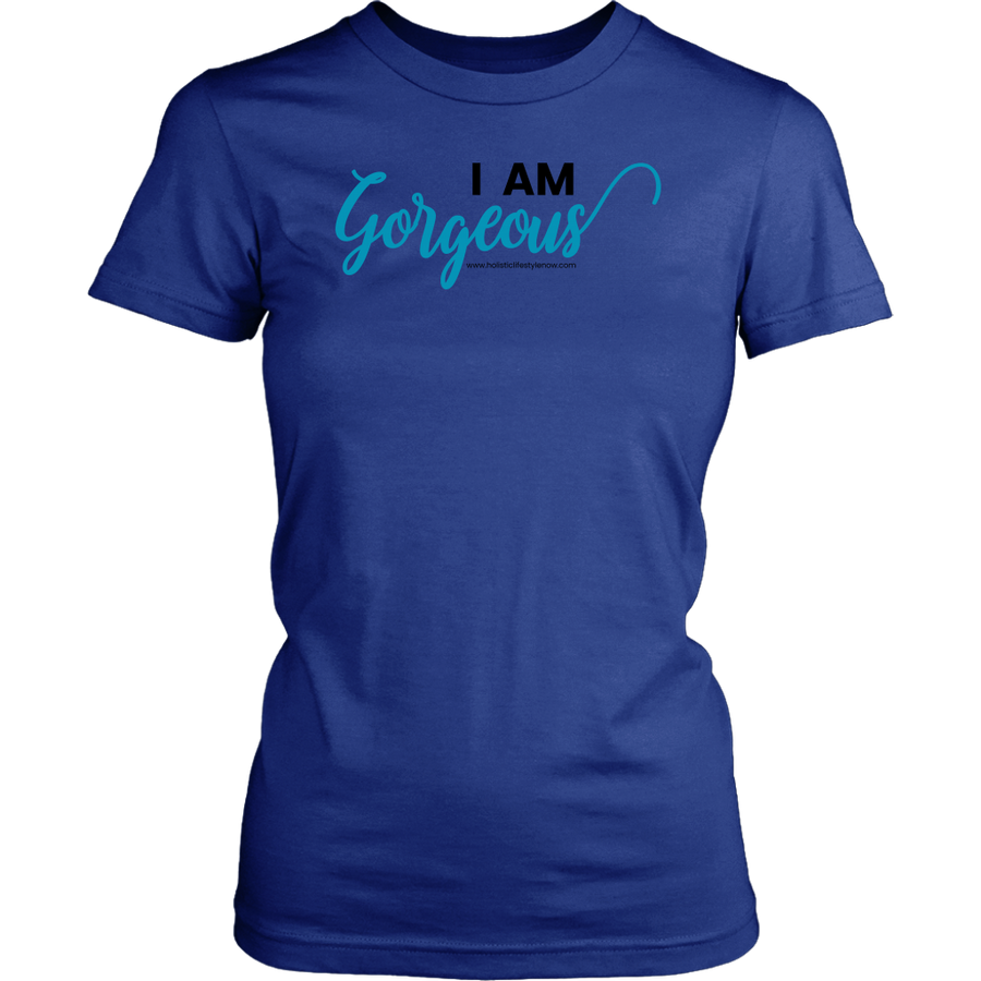 'I AM GORGEOUS' Bella Shirt