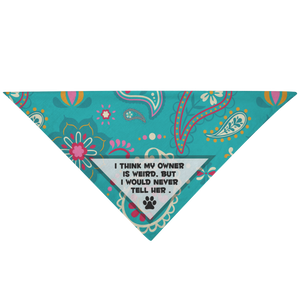 'Weird' Pet Bandana