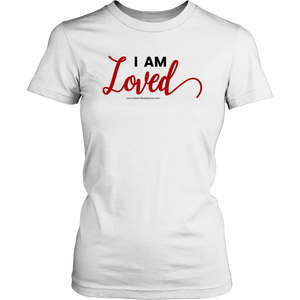 'I AM LOVED' Womens Round Neck