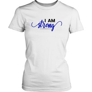 'I Am Strong' District Womens Shirt