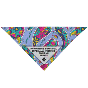 'Treats Or' Pet Bandana