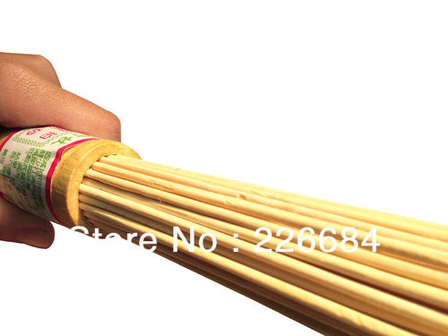 Natural Bamboo Massage Hammer Stick Sticks Fitness Pat Environmental Health best gift for grandfather grandmother