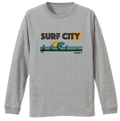 Surf City Long Tee 5.6oz SFL-384