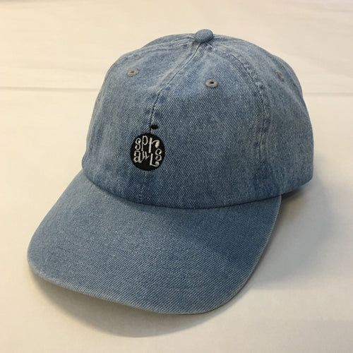 Apple Denim Cap SRC-234