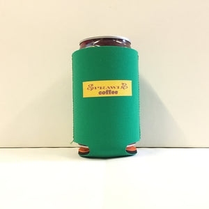 "Drink Holder ""SPRAWLS Coffee"" Yellow logo"