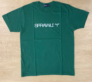 Sprawls 定番ロゴ Tee SSL-322(S) DarkGreen