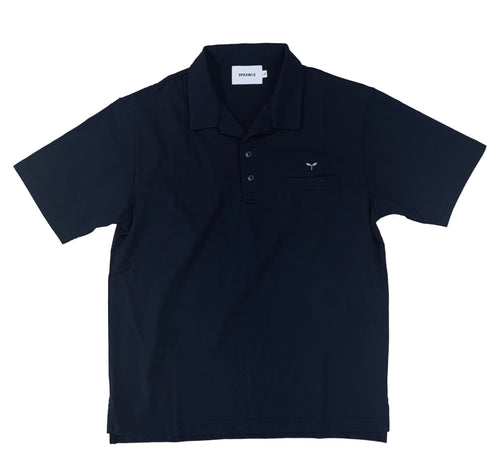 Open collar cut polo SSL-400