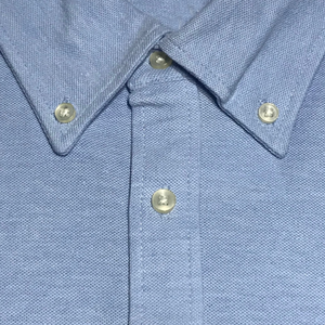B/D Polo Shirts SSL-327(P) OXBlue