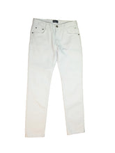 Washed Stretch Denim Slim Pants SGS-011(a) Off-White