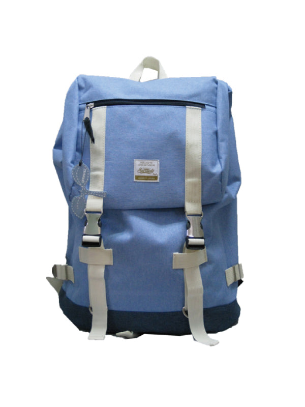 Chambray Back Pack SRC-036 Blue