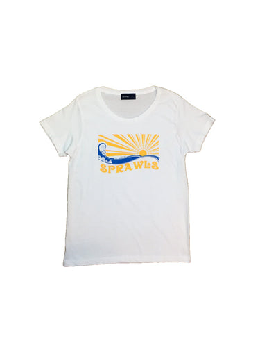 Girls SUN WAVE 4.7ozS/Stee SSL-302(G) Off-White