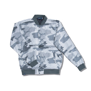 SUN WAVE STADIUM Mens Jacket SSL-313(J) White camo